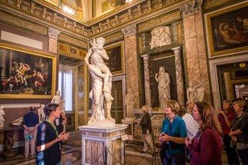 ,Visita guiada,Villa Borghese,Borghese Gallery