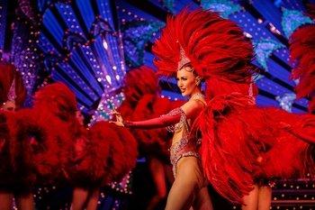 ,Moulin Rouge,Show,Tour por París