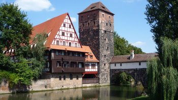 ,Excursion a Nuremberg,En tren