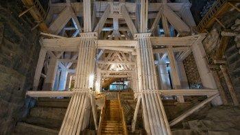 ,Mina de sal Wieliczka,Wieliczka Salt Mines,Visita a las minas con transporte incluido