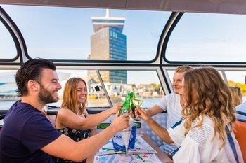 ,Crucero por los canales,Canal Cruise,Con comida o cena