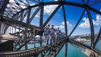 ,Escalada puente de la bahía
