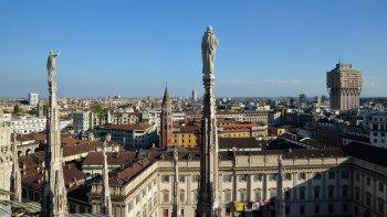 Ver la ciudad,Catedral del Duomo