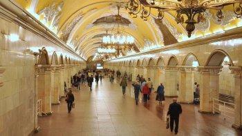 Ver la ciudad,Metro de Moscú,Visita guiada
