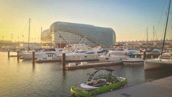 ,Tour por Abu Dabi,Circuito F1 Yas Marina