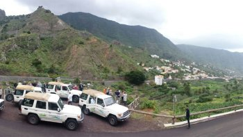 ,Excursión a La Gomera,Excursion to la Gomera