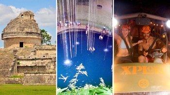 ,Excursión a Chichén Itzá,Excursion to Chichén Itzá,Chichen Itza + Aventura
