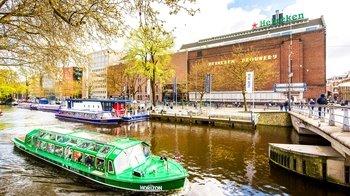 ,Crucero por los canales,Canal Cruise,Museo Heineken,Heineken Experience,Visita + crucero,Con actividad