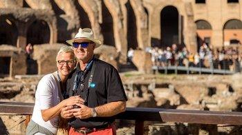 ,Coliseo,Colosseum,Con acceso a la arena de los gladiadores