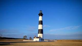 Bodie Island Lighthouse which includes a lighthouse