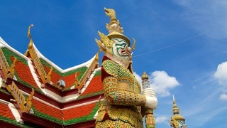 Temple of the Emerald Buddha which includes religious elements and a temple or place of worship