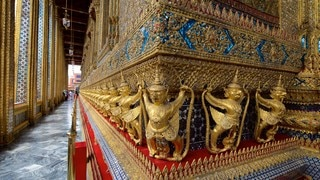 Temple of the Emerald Buddha which includes a temple or place of worship and religious aspects