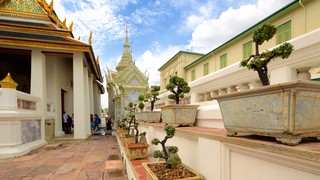 Grand Palace which includes a temple or place of worship and a garden