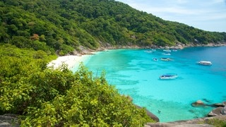 Ko Similan National Park showing rocky coastline