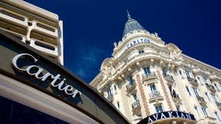 La Croisette featuring shopping and a hotel