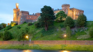 Inverness Castle showing heritage architecture, heritage elements and chateau or palace