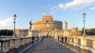 Castel Sant\'Angelo featuring a castle