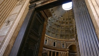 Pantheon showing religious aspects, a church or cathedral and interior views
