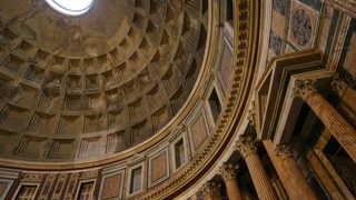 Pantheon featuring interior views, a city and heritage architecture