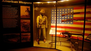 National World War II Museum which includes military items and interior views