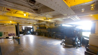 Battleship Texas featuring military items and interior views