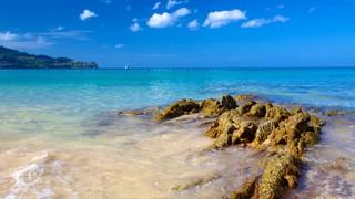 Laem Singh Beach which includes landscape views