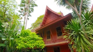 Jim Thompson House which includes a house