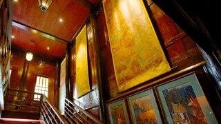 Jim Thompson House showing interior views