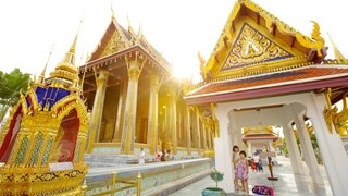 Temple of the Emerald Buddha which includes heritage architecture and a temple or place of worship