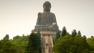 Big Buddha featuring a statue or sculpture, a monument and religious elements