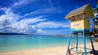 AquaSol Theme Park featuring a sandy beach and general coastal views
