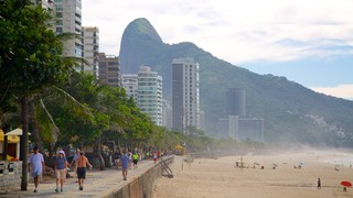 Sao Conrado Beach which includes a sandy beach