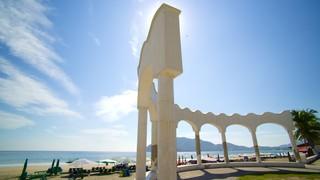 Playa Miramar showing general coastal views