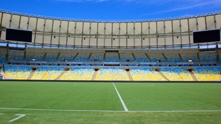 Maracana Stadium which includes a city