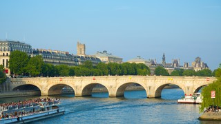 Pont Neuf showing a bridge and heritage architecture