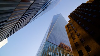 One World Trade Center which includes a skyscraper