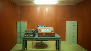 Reunification Palace featuring interior views