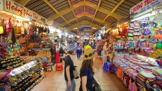 Ben Thanh Market featuring shopping and markets