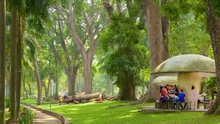 Saigon Zoo and Botanic Garden which includes a park