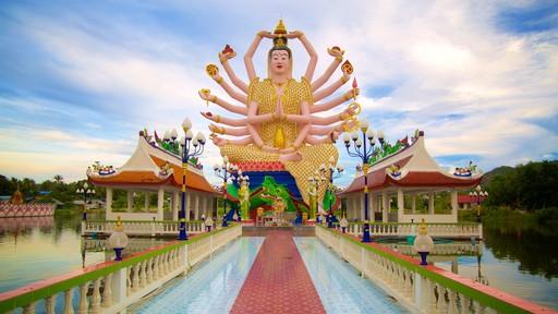 Temple Wat Plai Laem