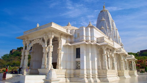 Birla Temple featuring chateau or palace
