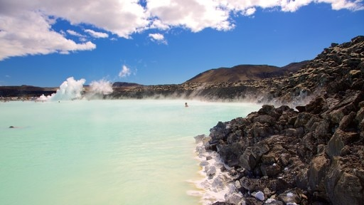 Blue Lagoon featuring a hot spring