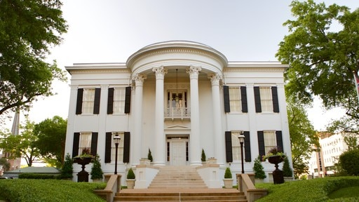 Mississippi Governor\'s Mansion featuring heritage elements, a house and heritage architecture