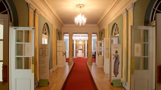 Bath Assembly Rooms which includes interior views
