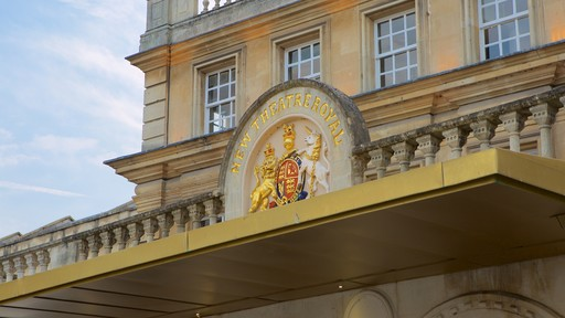 Bath Theatre Royal showing theater scenes and signage