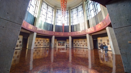 Country Music Hall of Fame and Museum showing interior views