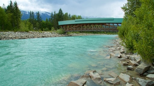 Kicking Horse Pedestrian Bridge