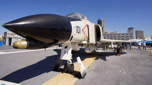 USS Midway Museum which includes aircraft, military items and an aircraft