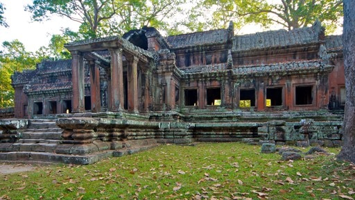 Angkor Wat featuring heritage architecture