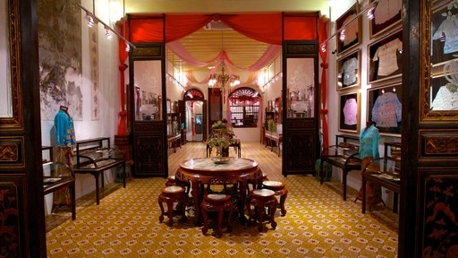 Pinang Peranakan Mansion showing interior views